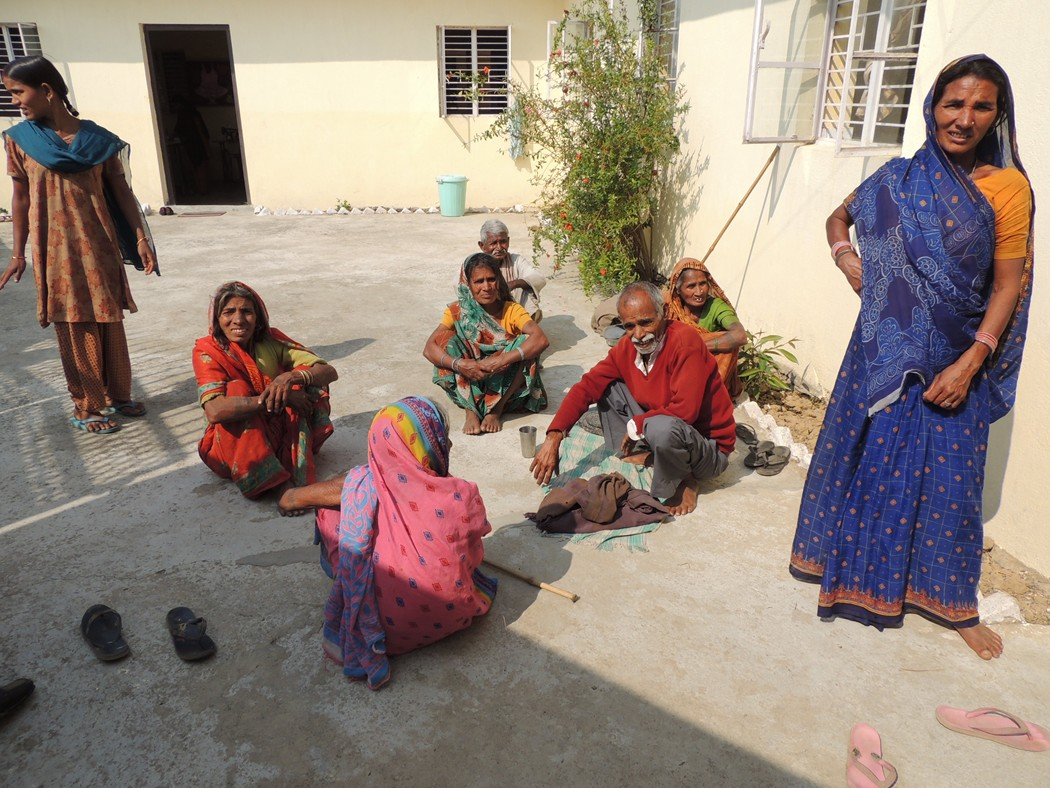 Une école à Bodh Gaya - le dispensaire médical