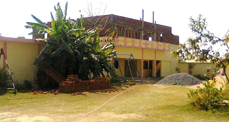 Une école à Bodh Gaya - construction du second bâtiment