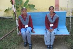 Une école à Bodh Gaya - Balancelle