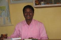 Rajesh, le directeur de l'école
