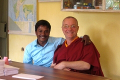 Rajesh et Lama-ji