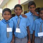 Une école à Bodh Gaya - Les garçons