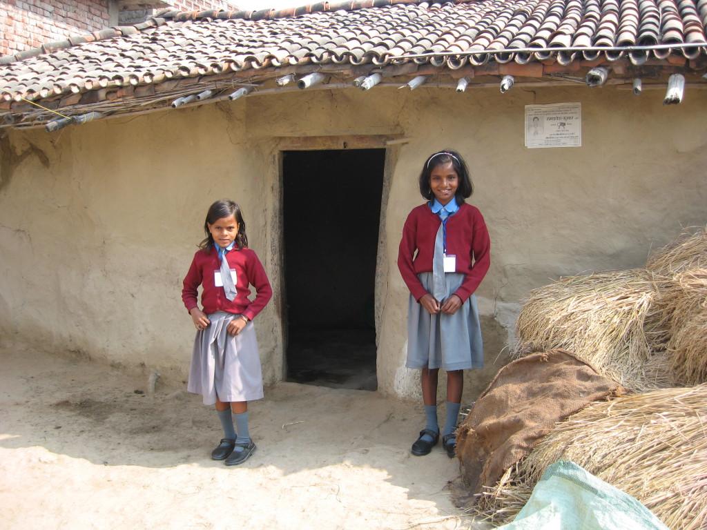 Une école à Bodh Gaya - La maison d'Anisha