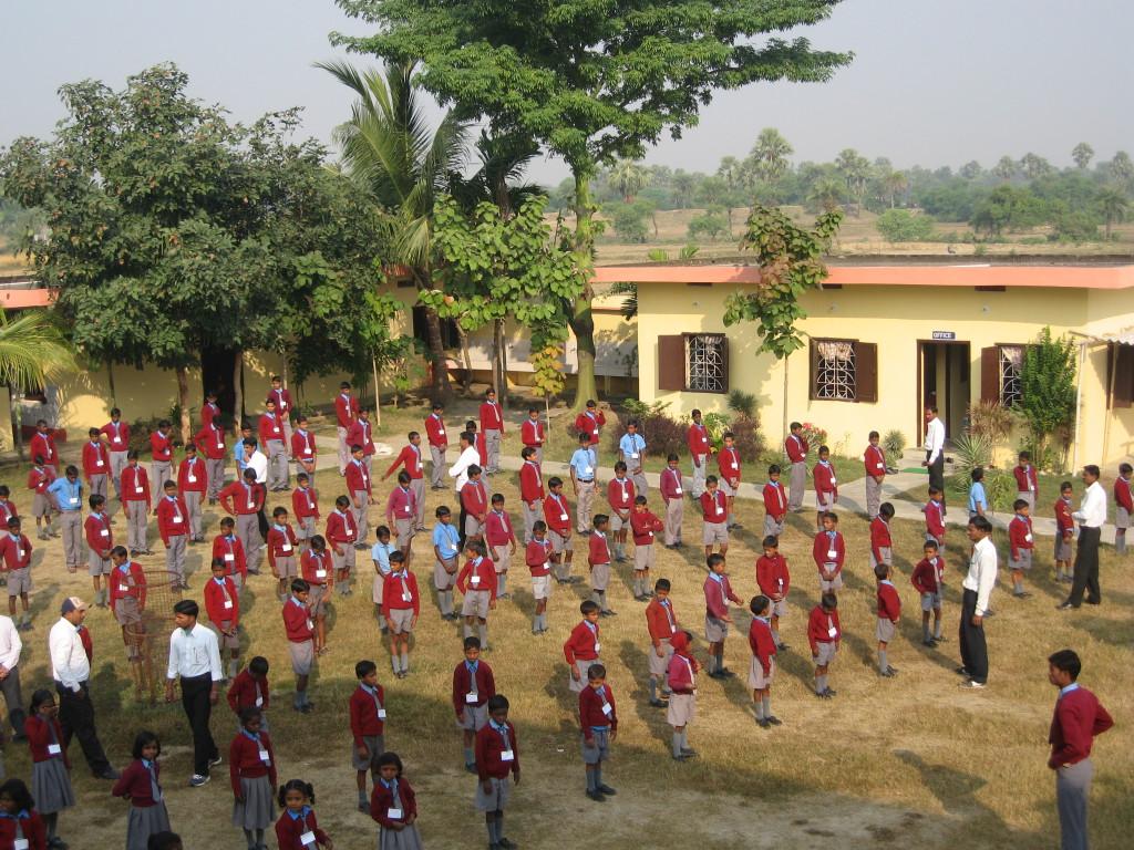 Une école à Bodh Gaya - Revue matinale