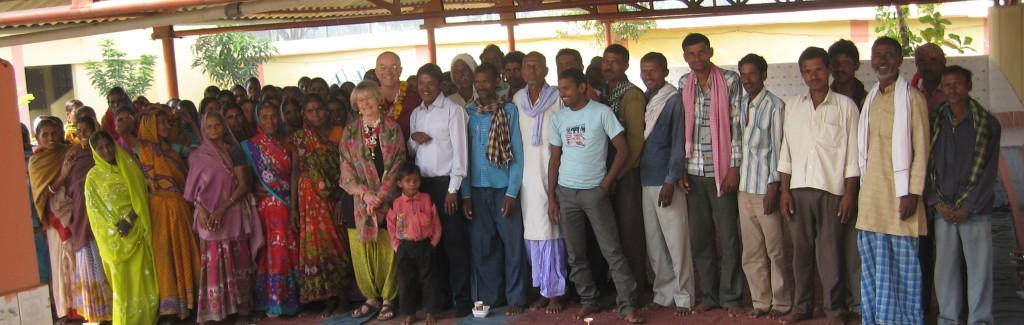 Une école à Bodh Gaya - rencontre