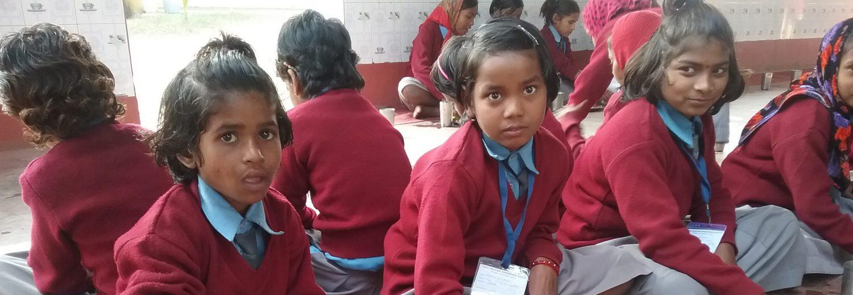 Une école à Bodh Gaya