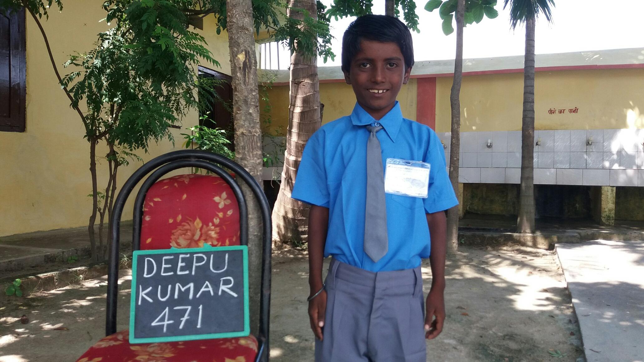 Une école à Bodh Gaya - inscription d'un nouvel élève